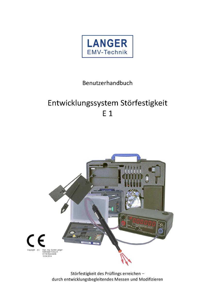 Langer EMV - Entwicklungssystem Störfestigkeit E1