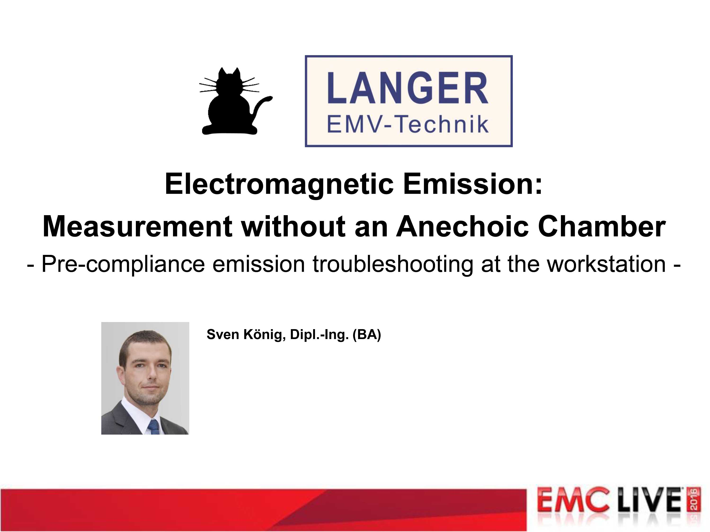 Electromagnetic Emissions Measurement Without an Anechoic Chamber