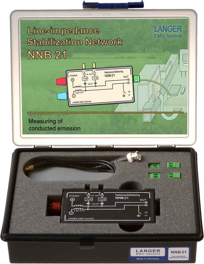 NNB 21 set, Line Impedance Stabilisation Network