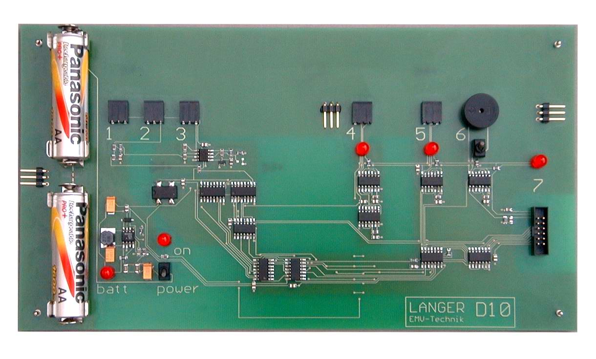 D10, Demonstration Board