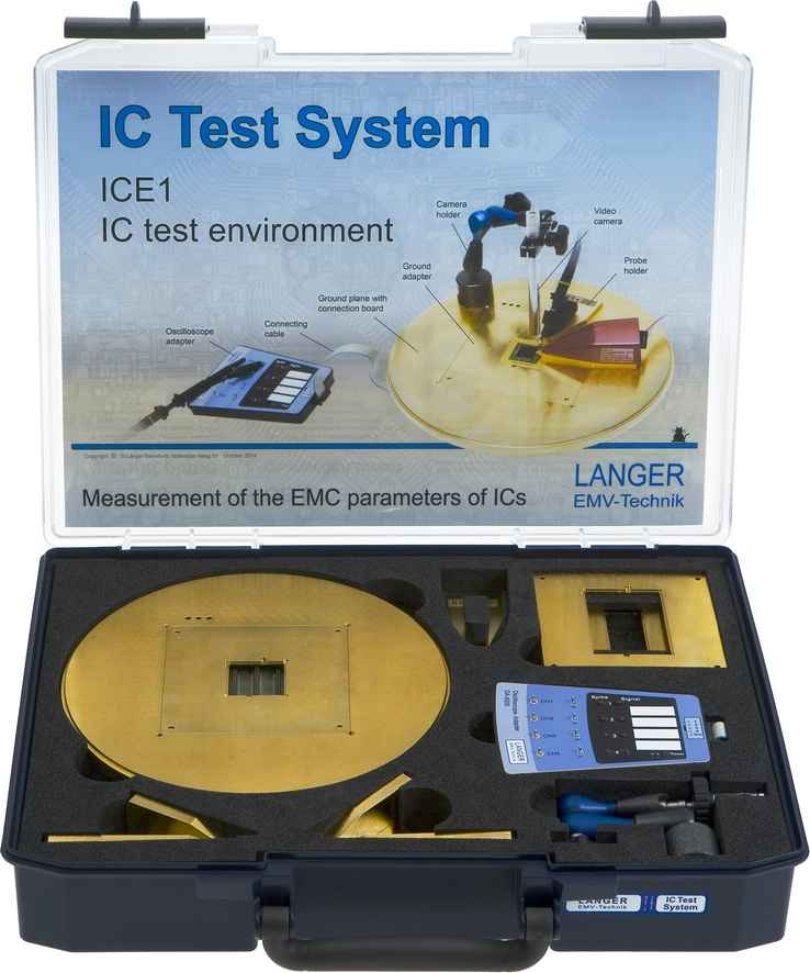ICE1 set, IC Test Environment