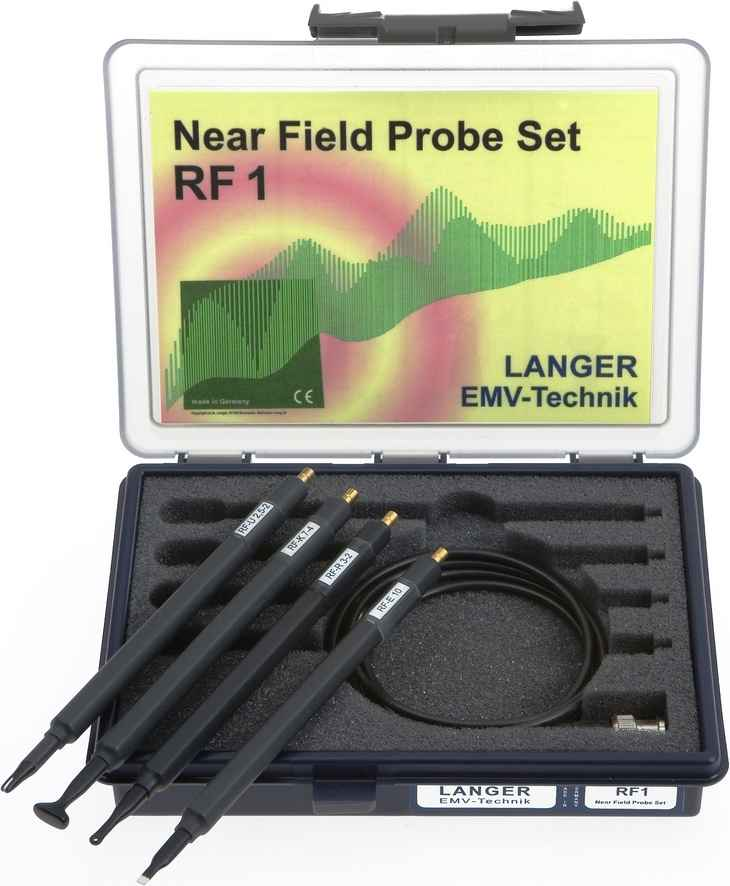 RF1 set, Near-Field Probes 30 MHz up to 3 GHz