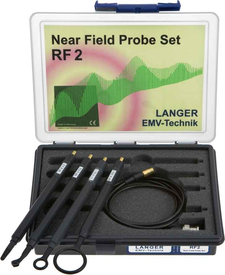 RF2 set, Near-Field Probes 30 MHz up to 3 GHz