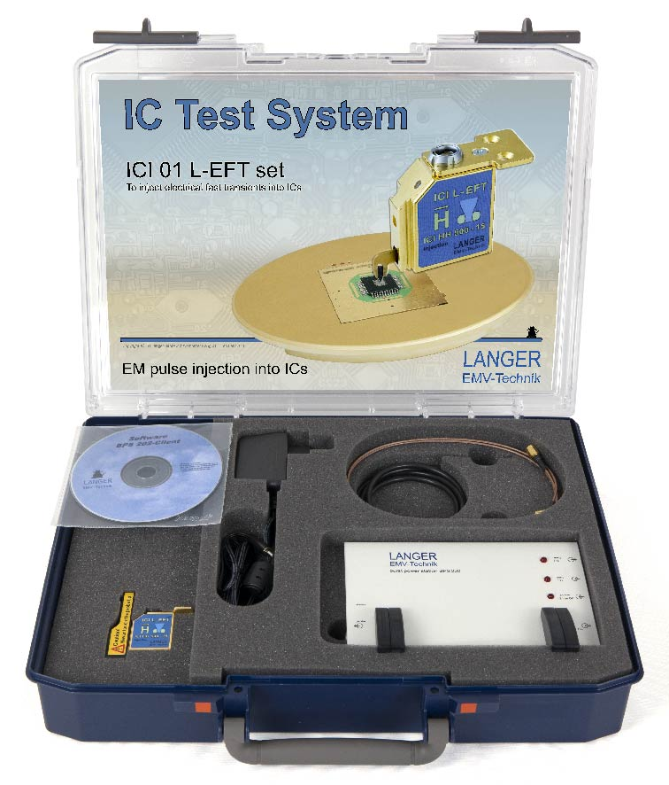 ICI 01 L-EFT set, IC EM Pulse Injection Langer Pulse