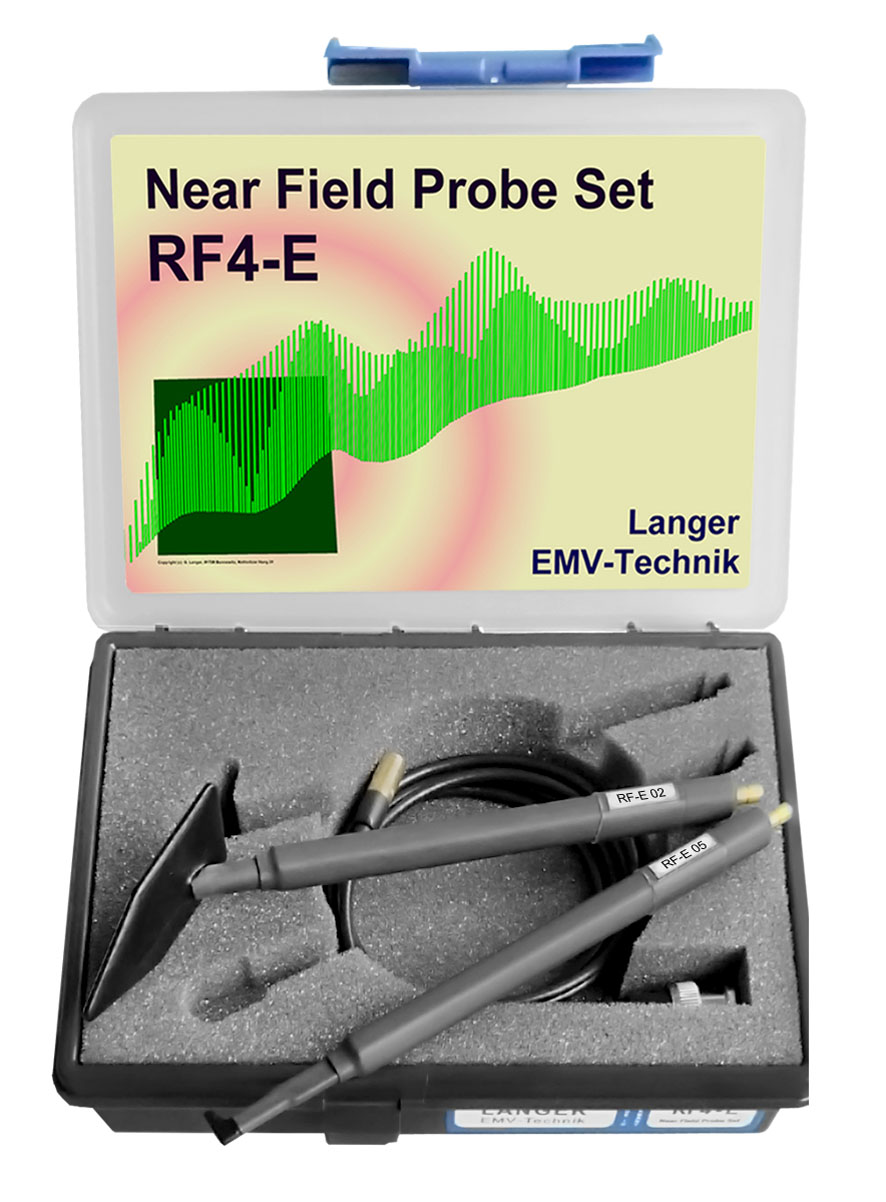 RF4-E set, Near-Field Probes E-field 30 MHz up to 3 GHz