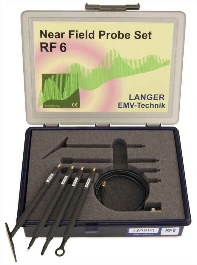 RF6 set, Near-Field Probes 30 MHz up to 3 GHz