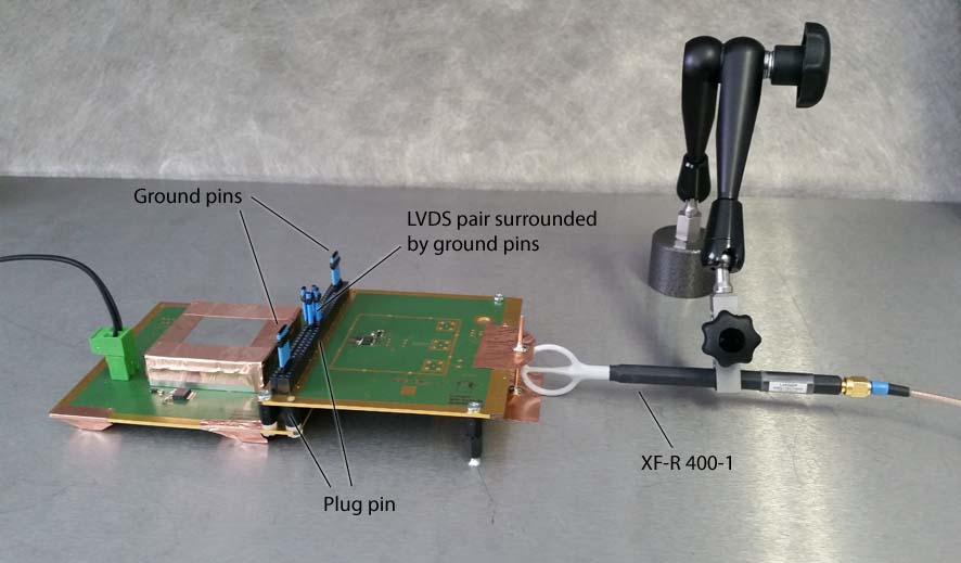02 XF sniffer probes and LVDS suppression